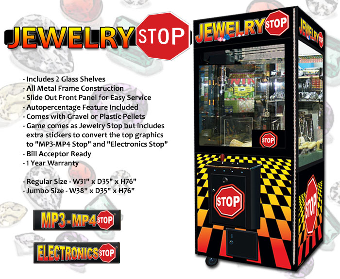 jewellery vending machine